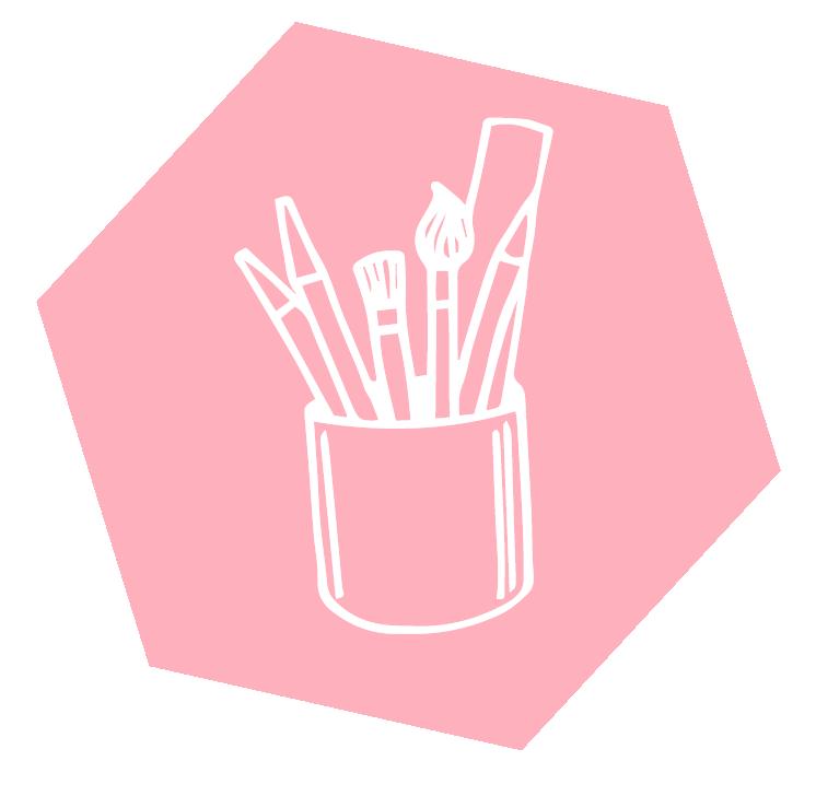 Icon Köcher mit Stiften