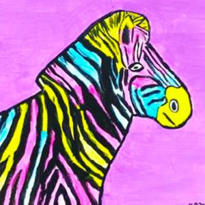 Zebra Malkurs Kinder