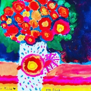 Muttertagsgeschenk Bild malen