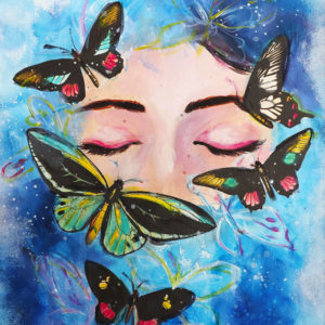 Collage Butterfly Dream