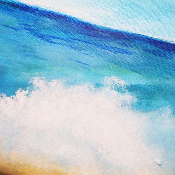 Acrylbild Meer
