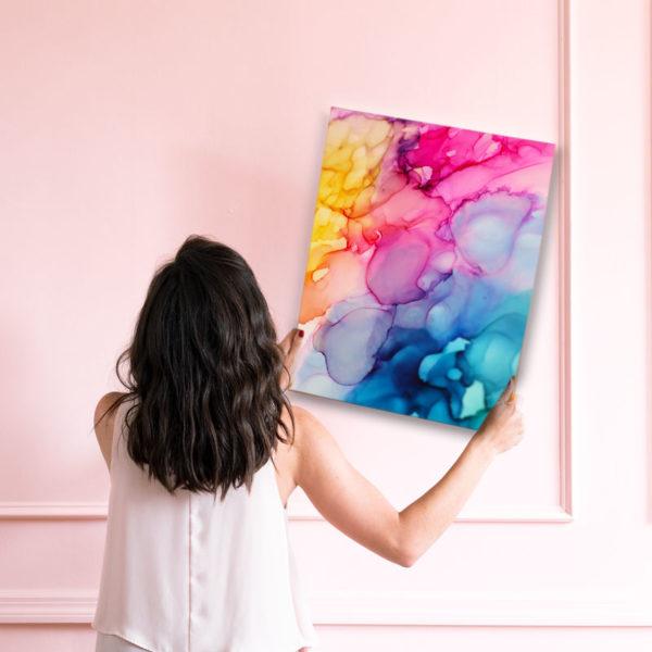 Fluid Painting Art Wandposter